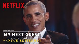 Why Obama 'Stays in the Pocket' with His Dad Moves | My Next Guest Needs No Introduction | Netflix
