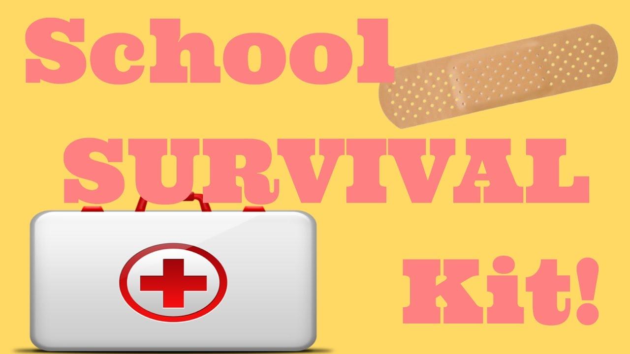 School Emergency Kitmiddle School Survival Kit Youtube