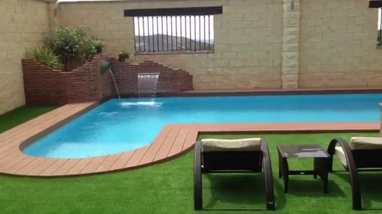 piscina 8 x 4 villanueva de algaidas youtube