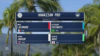 2017 Hawaiian Pro: Round Two, Heat 3