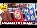 BONGKAR ISI LEMARI HIJAB RICIS wow koleksi 1000 hijab tapi yang dipake cuma satu
