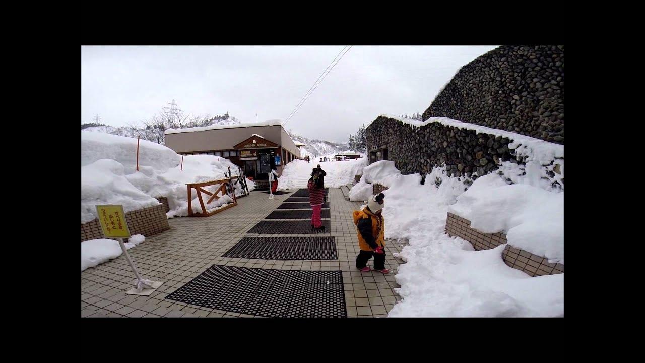 naspa new otani ski resort 2/18 to 2/20/14 - youtube