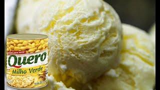Sorvete De Milho Cremoso De Latinha