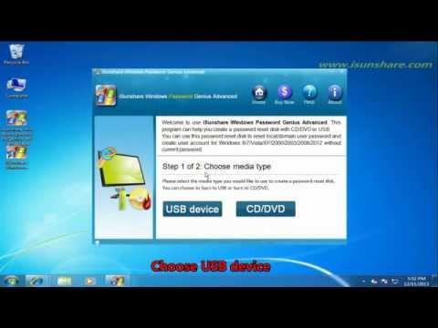 Isunshare Windows Password Genius Advanced Download