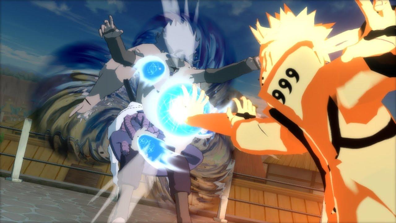 Naruto Storm 3 Full Burst Bijuu Mode Naruto Vs Cs2 Sasuke Pc Mods Youtube