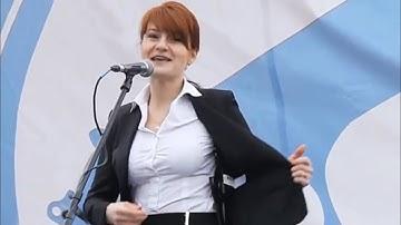 푸틴 지령받고 온 러시아 미녀 스파이 부티나 체포 / 연합뉴스TV (YonhapnewsTV)
