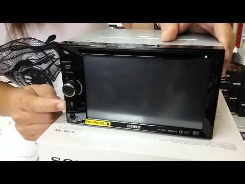 เครื่องเสียงรถยนต์ 2 DIN DVD ที่ดีที่สุด DVD SONY XAV-W600 ราคาถูก ชัดที่สุด เสียงดี ทนทาน