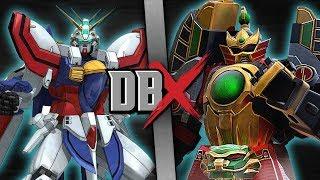 Burning Gundam VS Thunder Megazord | DBX