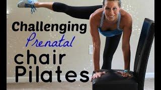 Challenging Prenatal Chair Pilates