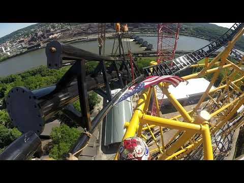 Kennywood's Steel Curtain Looks Ready for Testing!