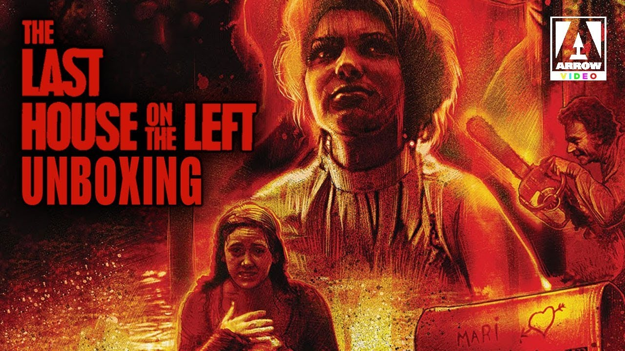 The Last House on the Left Limited Edition Blu-ray | Arrow Video Unboxing Review