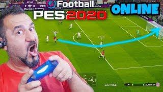 PES 2020 DEMO ONLINE GOL YAĞMURU!   eFootball PES 2020 DEMO ONLINE MAÇ!