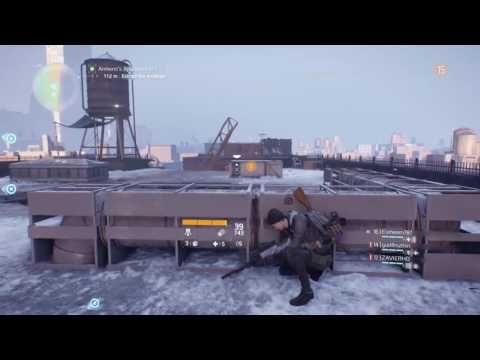 """Playing in the trash can called """"Ideology"""" (Tom Clancy's The Division)"""