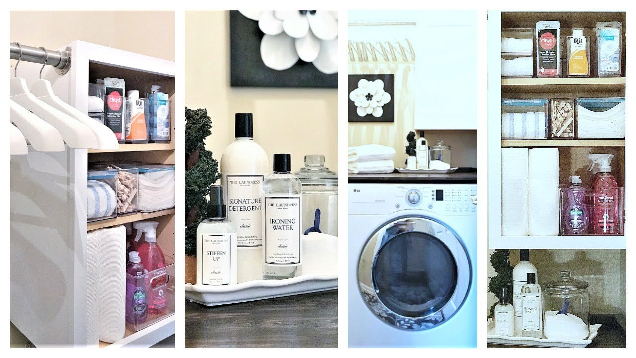 New How To Organize A Small Laundry Room Ideas Youtube