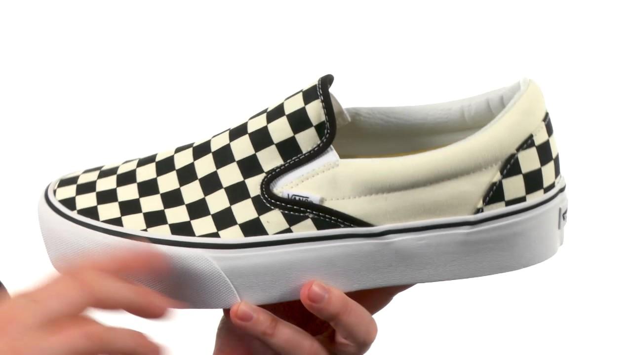 0d05dff2578a28 Vans Classic Slip-On Platform SKU 8899730 - YouTube