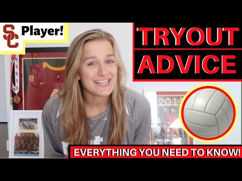 Volleyball Tryouts: Advice From USC Libero | Victoria Garrick