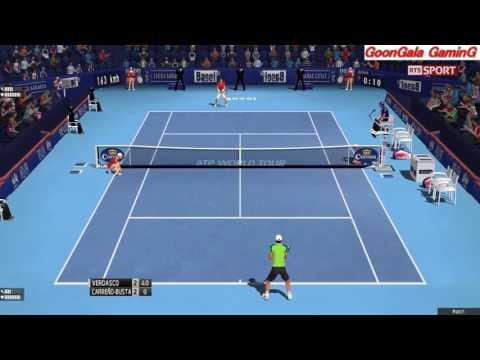 Fernando Verdasco vs Pablo Carreno Busta | 1st Round Swiss Indoors Basel 2016 TE 2013 Simulation