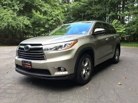 2016 Toyota Highlander Platinum – Redline: Review