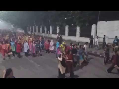 Bangladesh Girls kota birodhi andolon 09/042018