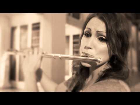 Katherine Bryan video - Poulenc Flute Sonata 2nd movement