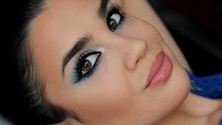 Icy blue make up ❤SweetBeauty1990❤