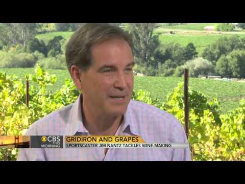 TV announcer turn wine maker, Jim Nantz