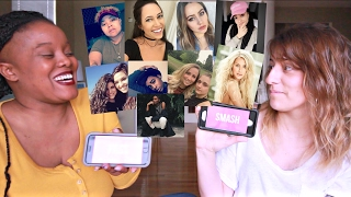 SMASH or PASS ft. Arielle Scarcella | Lesbian YouTubers