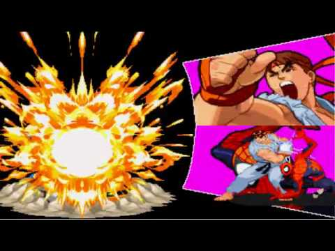 Download marvel super heroes vs capcom spiderman ryu versus ryu spiderman