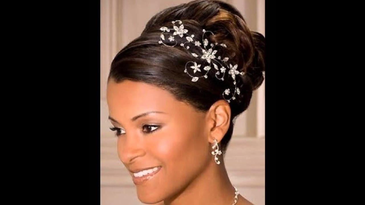 black wedding hairstyles 2015