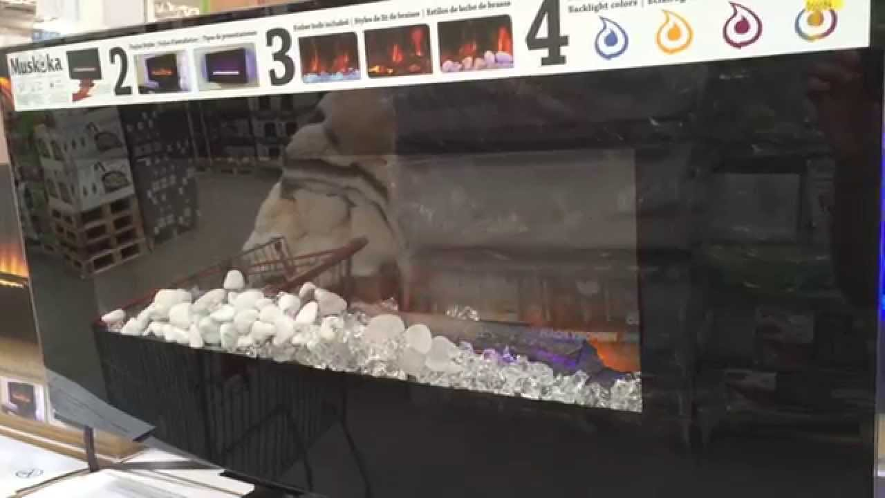 Greenway Muskoka Electric Fireplace at Costco - YouTube
