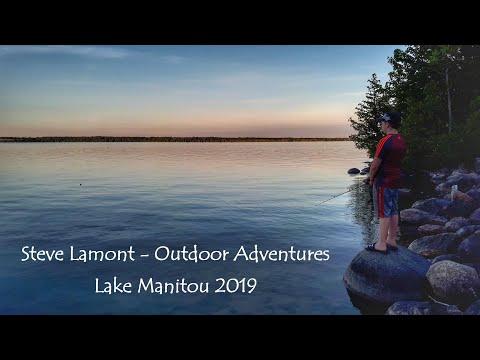 LAKE MANITOU 2019 | FISHING | SWIMMING | KAYAKING | And EXPLORING