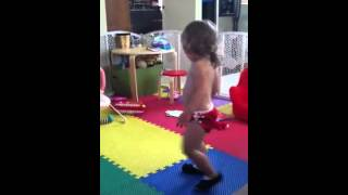 Mya gamm 27 months ballet we are the dinosaurs marching