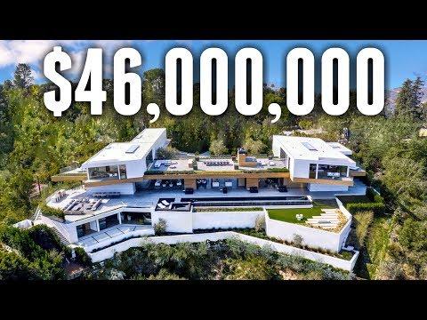 INSIDE A $46 Million Minimalist Beverly Hills MEGA MANSION