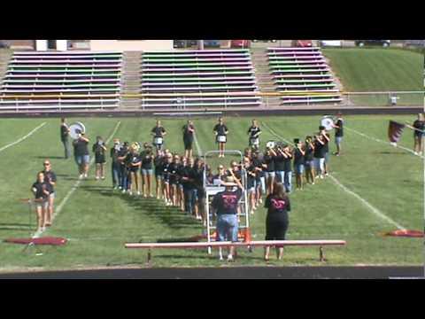 vandercook lake high school marching band 2010