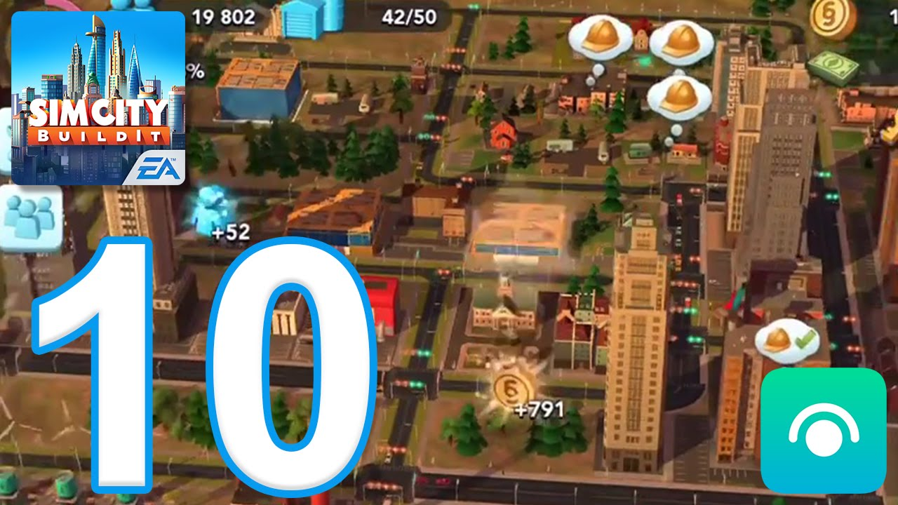 SimCity BuildIt - Gameplay Walkthrough Part 10 - Level 11-12 (iOS, Android)
