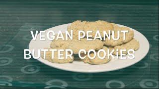 Jenny bakes | Vegan peanut butter cookies Thumbnail