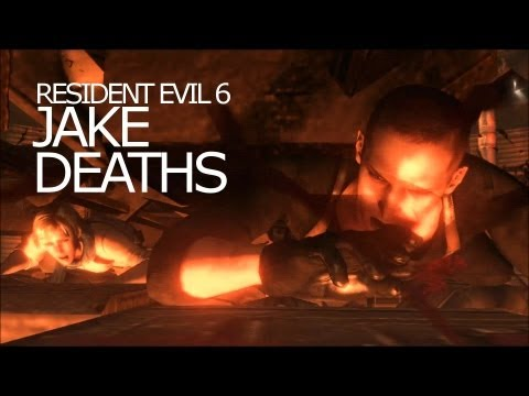 Jake Muller Death Scenes - Be Killed Awesomely Title Resident Evil 6 |