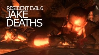 Jake Muller Death Scenes - Be Killed Awesomely Title Resident Evil 6