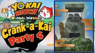 Yo-Kai Watch Wibble Wobble - Crank-A-Kai Party 4! The 100K Y-Money FINALE!