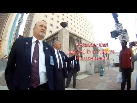 News Now Houston is attacked by US Court Security