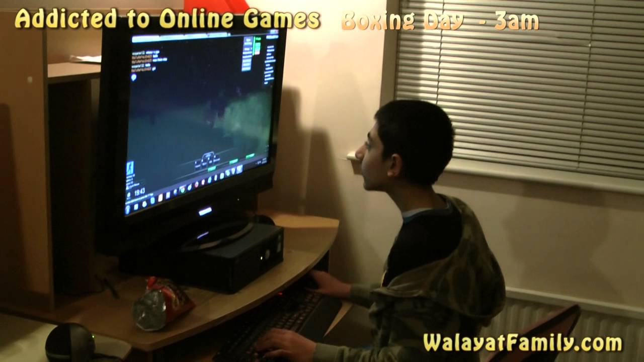 Addicted to Online Games such as Call of Duty, Minecraft ...