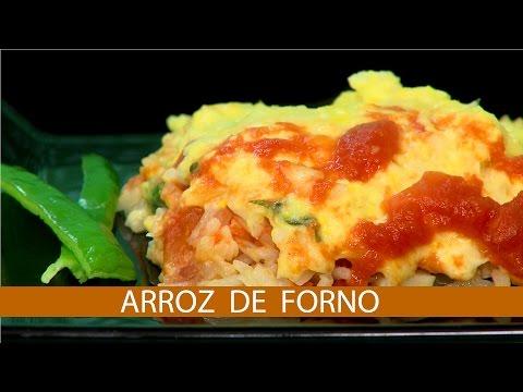 ARROZ DE FORNO COM CREME DE MILHO