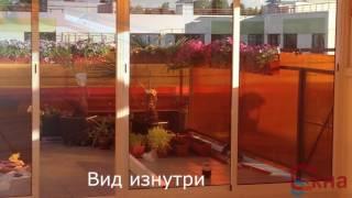 видео холодное остекление веранды