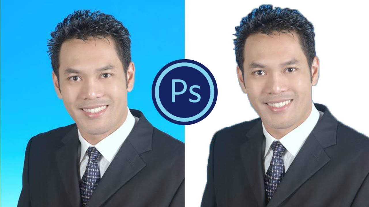 photoshop cs6 how to change white background on passport size