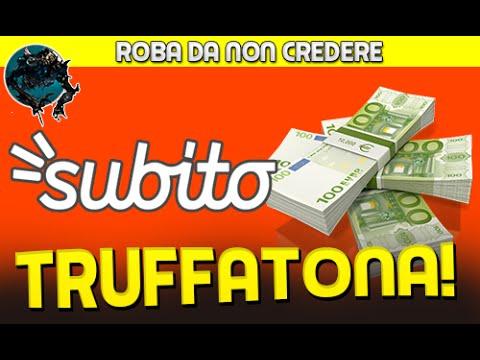 LA TRUFFA SU SUBITO.IT ATTENZIONE!