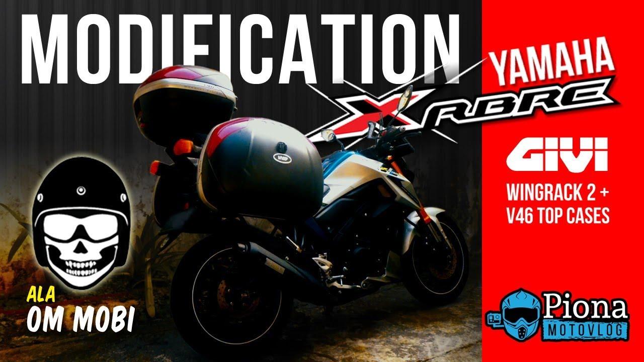 Modifikasi Yamaha Xabre Mslaz Tfx 150 Ala Motomobi Cara Pasang Stang Box Givi Wingrack