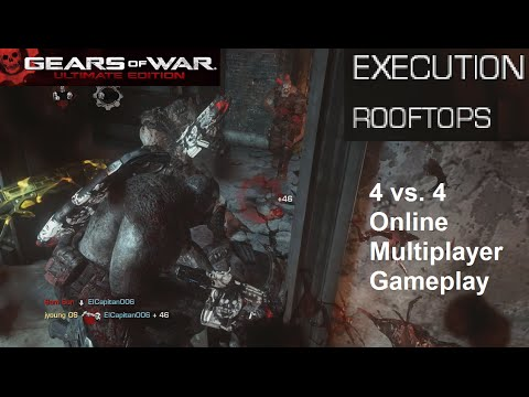 Gears Of War Ue Rooftops Execution Gameplay Xbox One