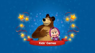 Masha and The Bear with play game