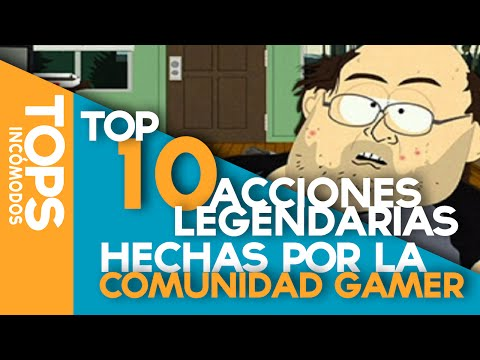 Top 10 Acciones Legendarias de la Comunidad Gamer