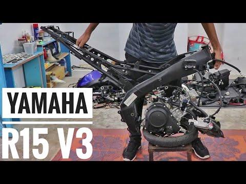Rebuild Timelapse : Yamaha R15 V3